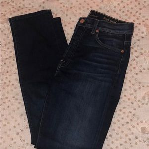 High waisted 7 for all mankind jeans